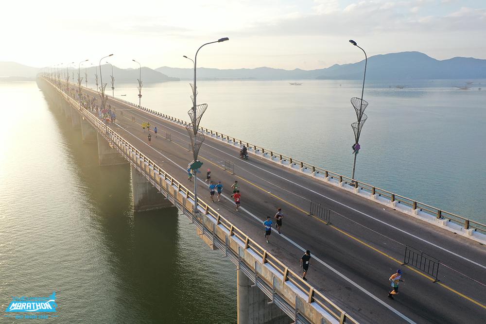 VnExpress Marathon held in Quy Nhon in 2020.