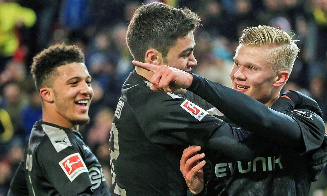 Sancho, Reyna dan Haaland adalah aset berharga yang dapat membantu Dortmund menyelesaikan kesulitan keuangan mereka.  Foto: imago