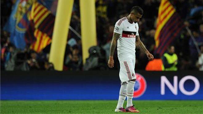 ทีมคว้าแชมป์ยุโรป 7 สมัยมิลานล้มเหลวในการเข้าร่วมแชมเปี้ยนส์ลีกเป็นเวลาหลายปีและล้มเหลวในการคว้าแชมป์เซเรียเอรูปภาพ: Diario Sport