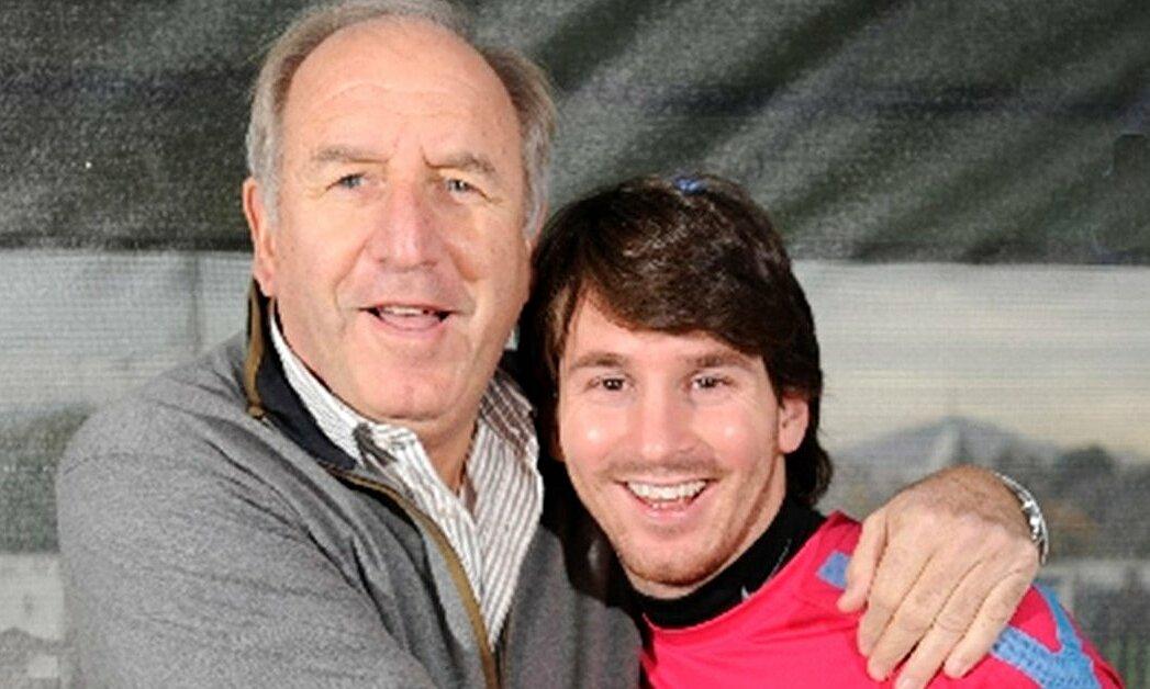 Rexach adalah salah satu orang terpenting yang membawa Messi ke Barca.  Foto: Infobae