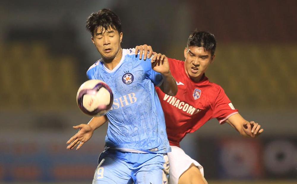 Da Nang memenangkan Quang Ninh 1-0 di Cam Pha pada 24 Januari.  Foto: VPF