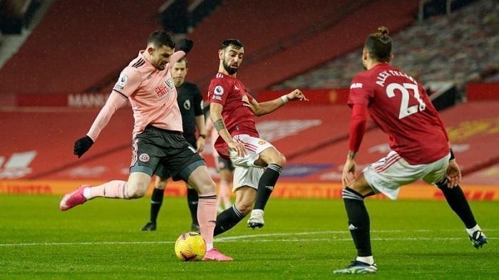 Man Utd kalah dari Sheffield di kandang dalam pertandingan untuk menang untuk mendapatkan kembali keunggulan.  Foto: Reuters.