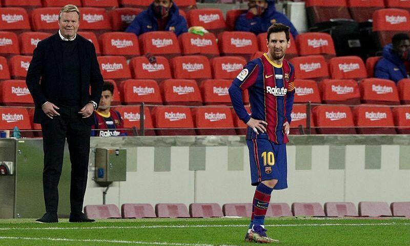 Kontrak Messi dengan Barca akan habis pada 30 Juni 2021, dan dia belum melakukan perpanjangan kontrak.  Foto: Reuters