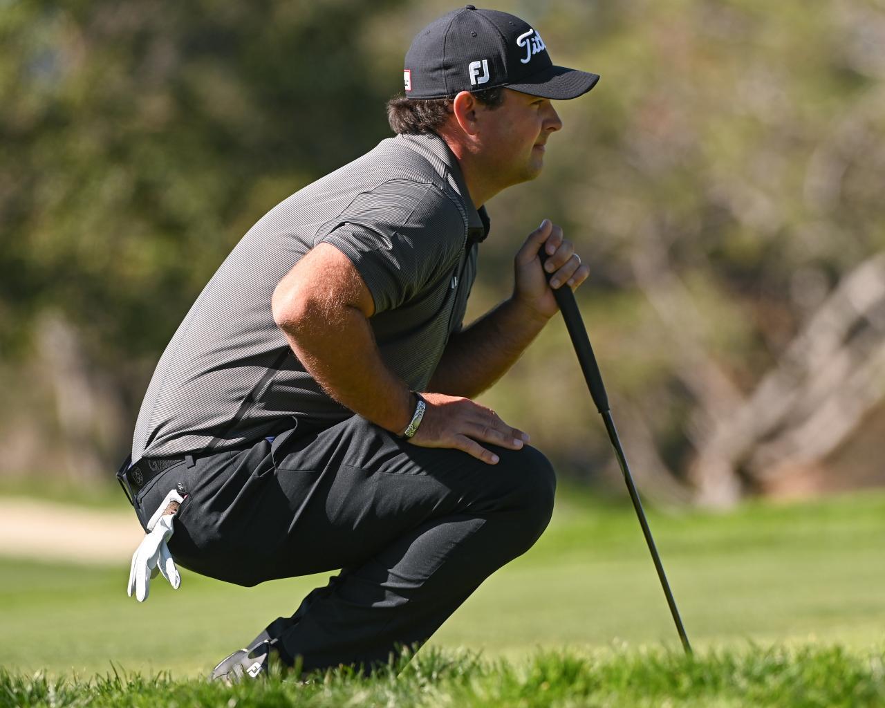 Reed kontroversial ketika dia menggunakan bola.  Foto: Golf Digest