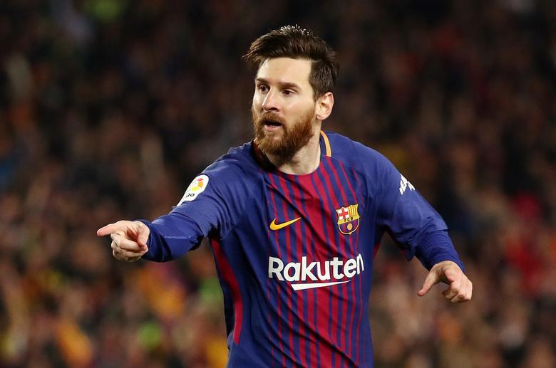 Jika detailnya benar untuk El Mundo, Messi memiliki kontrak olahraga terbesar dalam sejarah.  Foto: Reuters.