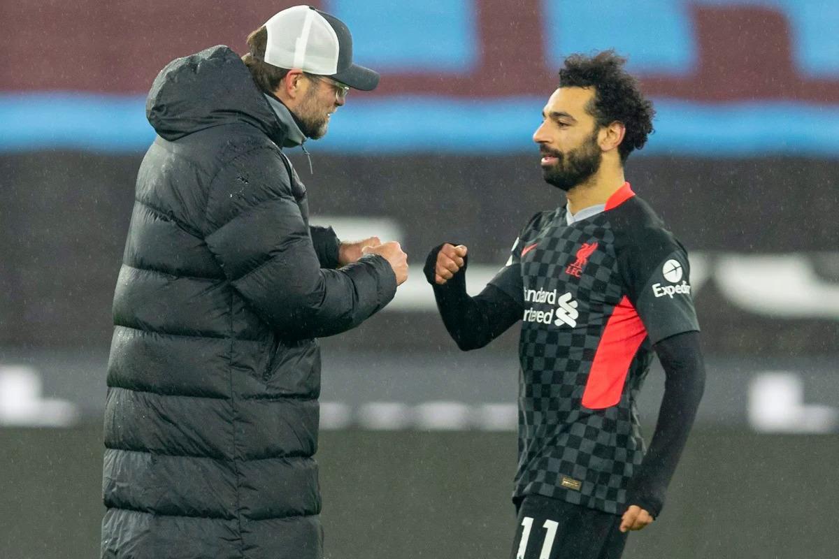 Nhờ phong độ cao những ngôi sao tấn công như Salah, Liverpool ghi sáu bàn trong hai trận thắng liên tiếp ở Ngoại hạng Anh. Ảnh: Sky.