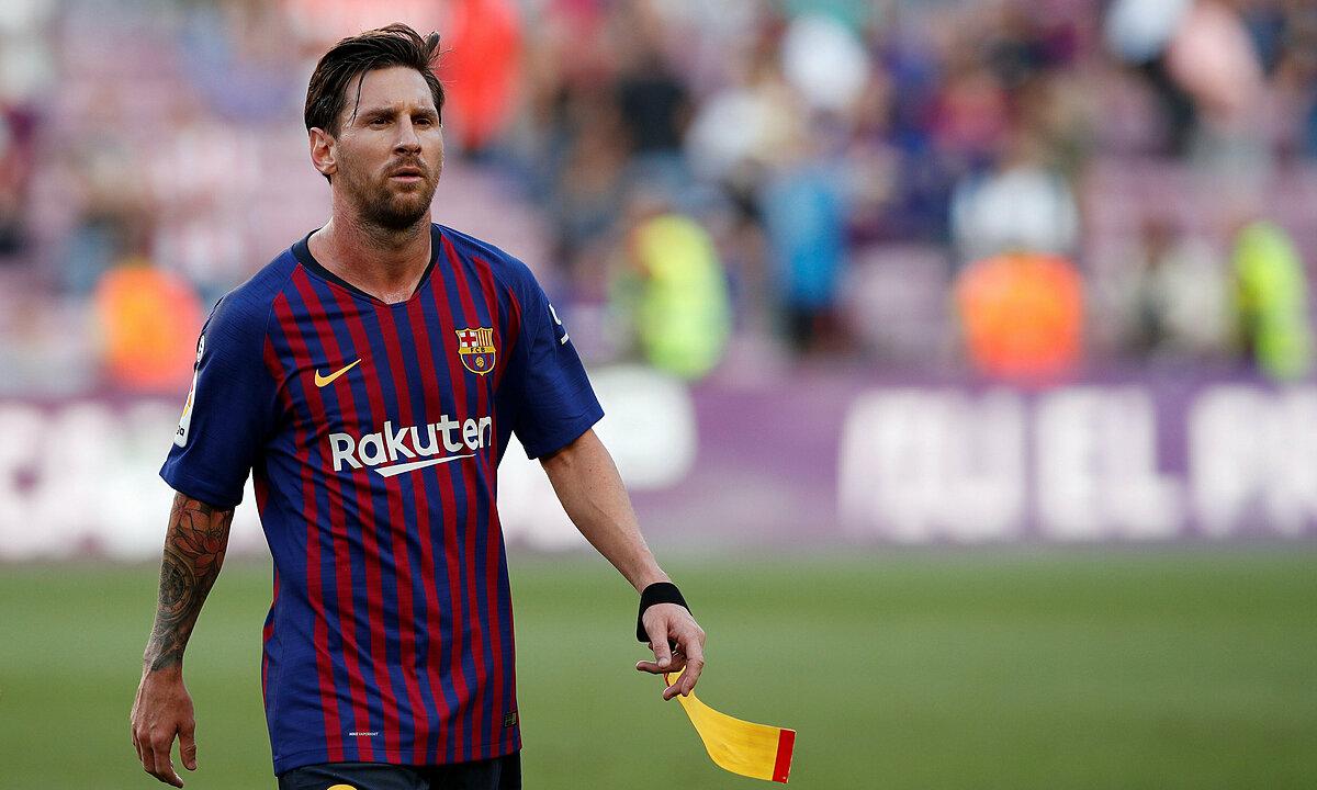 Messi adalah alasan mengapa Barca membantu Barca mendapatkan paket sponsor rekor dengan Nike.  Foto: Reuters