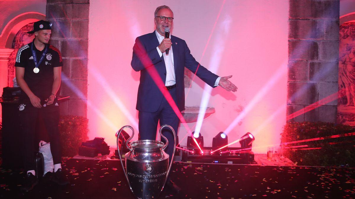 Rummenigge adalah seorang striker dari Bayern sebelum pindah ke manajer dan ketua klub Bavaria sejak 2002. Foto: DPA