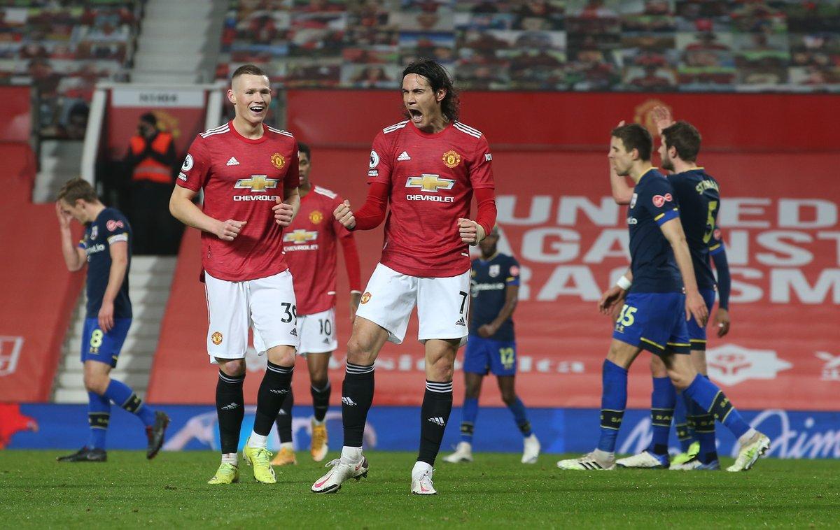 Man Utd có trận thắng đậm nhất dưới triều đại Ole Gunnar Solskjaer, cân bằng kỷ lục từ thời Sir Alex Ferguson. Ảnh: Sky.