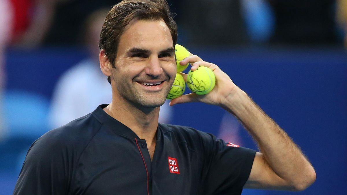 Federer nghỉ 13 tháng trước khi trở lại ở Qatar Mở rộng 2021. Ảnh: ATP.