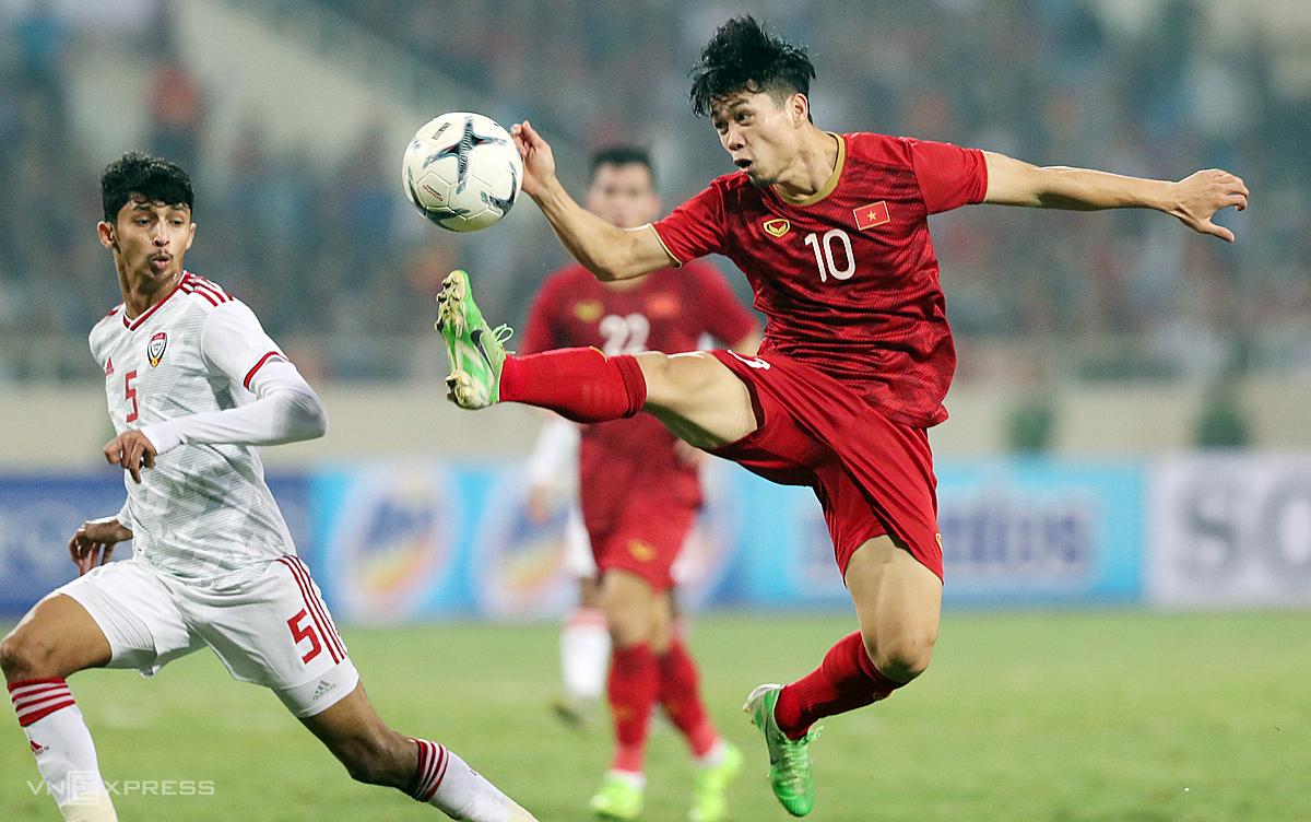 การแข่งขันที่เหลือของการแข่งขันฟุตบอลโลกรอบคัดเลือกกลุ่ม G ในเอเชียสามารถจัดขึ้นที่ยูเออีในเดือนมิถุนายน 2021  ภาพ: Duc Dong