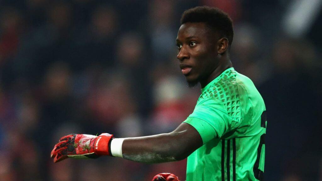 Onana bắt chính cho Ajax từ 2016, khi mới 20 tuổi. Ảnh: Goal.