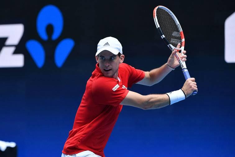 Thiem là á quân Australia Mở rộng 2020, thua Djokovic ở chung kết. Anh bốn lần vào chung kết Grand Slam và có một chức vô địch. Ảnh: ATP.
