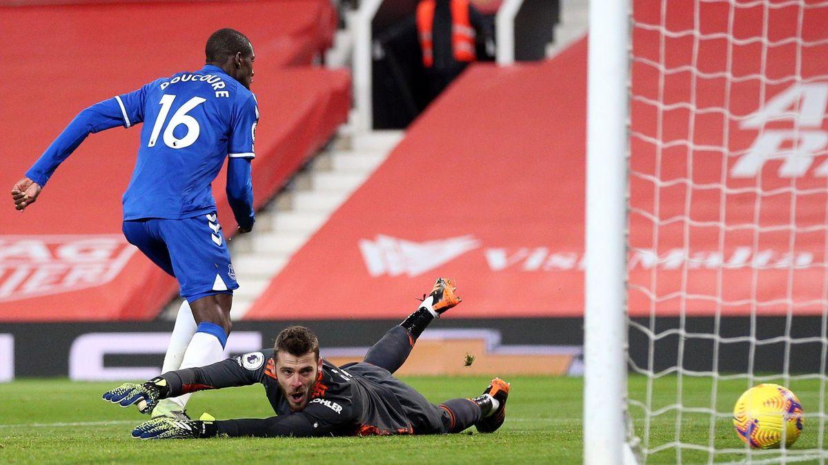 De Gea bắt 21 trong 23 trận Ngoại hạng Anh mùa này cho Man Utd. Ảnh: Goal.