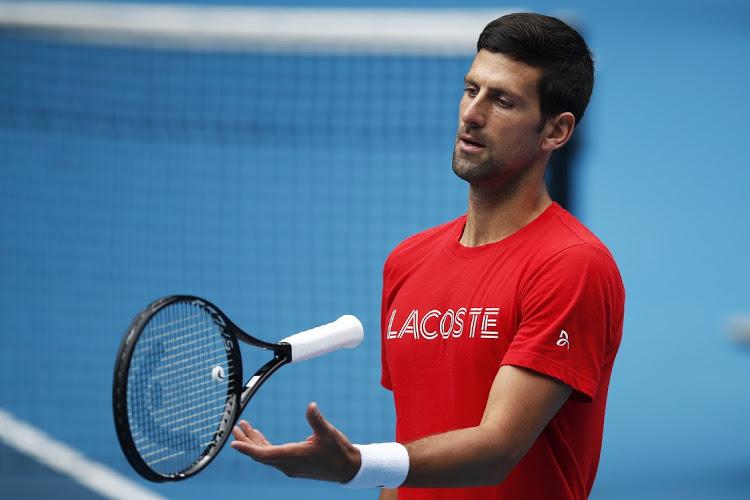 Djokovic vừa thất bại trong chiến dịch bảo vệ chức vô địch ATP Cup của tuyển Serbia, nhưng toàn thắng những trận đơn. Ảnh: ATP.