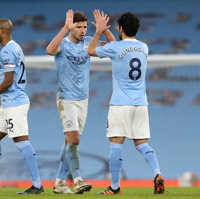 Kekuatan besar, dengan faktor-faktor atau cadangan baru seperti Dias dan Gundogan, membantu Man City keluar dari krisis secara bertahap, mencapai puncak klasemen Liga Inggris.  Foto: Liga Inggris