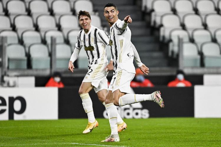 Ronaldo chấm dứt chuỗi ba trận tịt ngòi. Ảnh: AP.