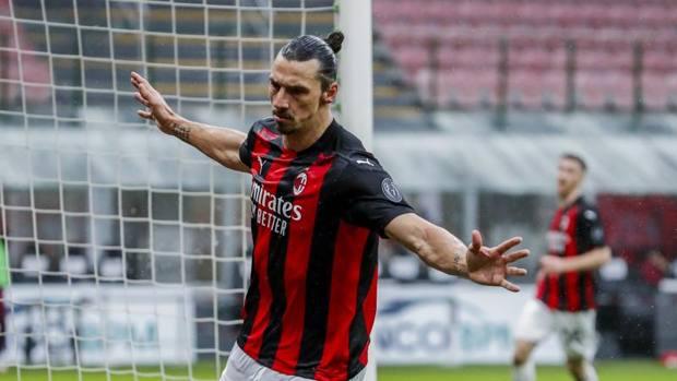 Ibrahimovic đã ghi 14 bàn trong 10 trận đá chính ở Serie A mùa này. Ảnh: Gazzetta