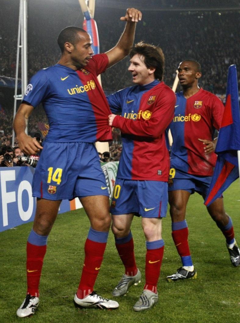 Messi sudah memainkan peran sentral di Barca sejak 2009, membuat para gelandang tim bisa bergaul dengannya untuk bersinar.  Foto: EFE