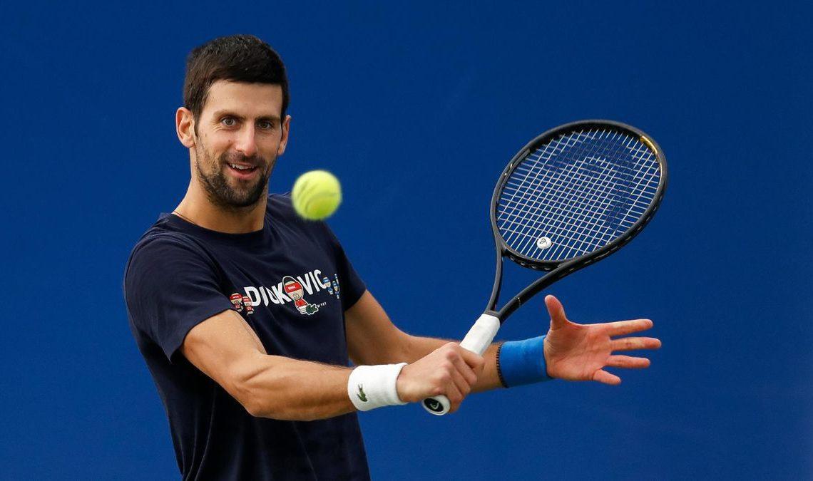 Lần duy nhất Djokovic bị loại ở vòng hai Australia Mở rộng là năm 2017, trước tay vợt nhận vé đặc cách Denis Istomin. Ảnh: Tennisconnected.