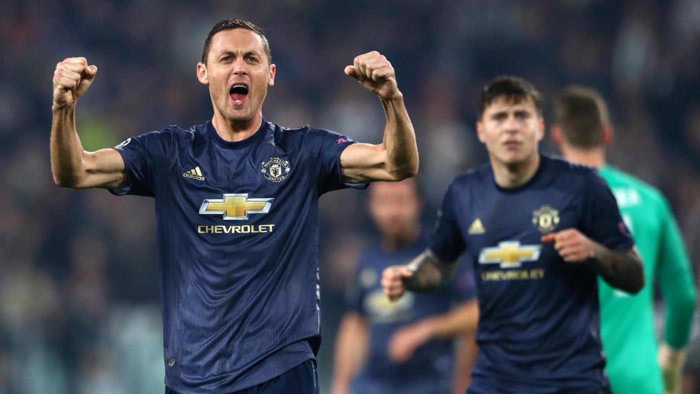 Man Utd từng thắng 2-1 ở lần gần nhất đá Cup châu Âu trên sân Juventus Arena hôm 7/11/2018. Ảnh: AFP