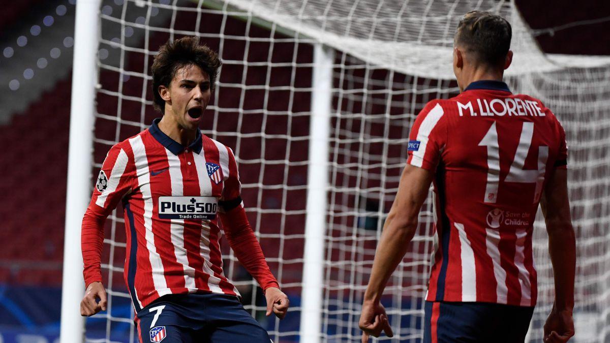 Felix (kiri) adalah pemain paling berharga di La Liga saat ini.  Foto: AFP.