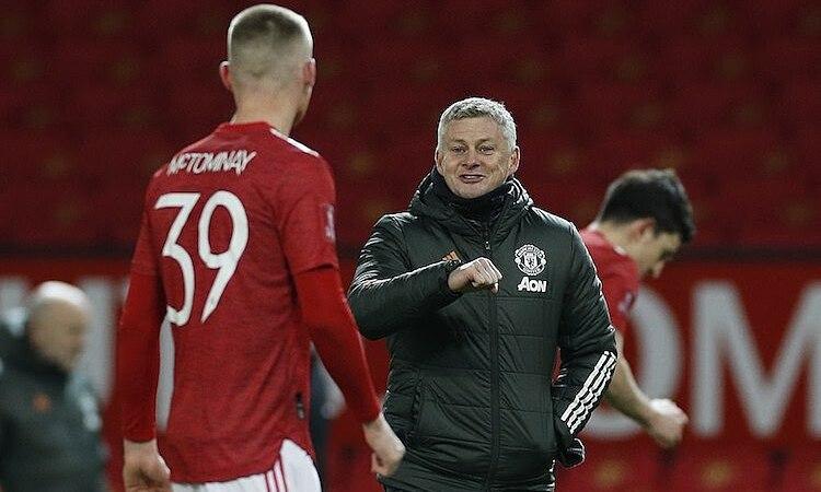 McTominay เป็นที่รักของ Solskjaer ที่ Man Utd  ภาพ: สพป.