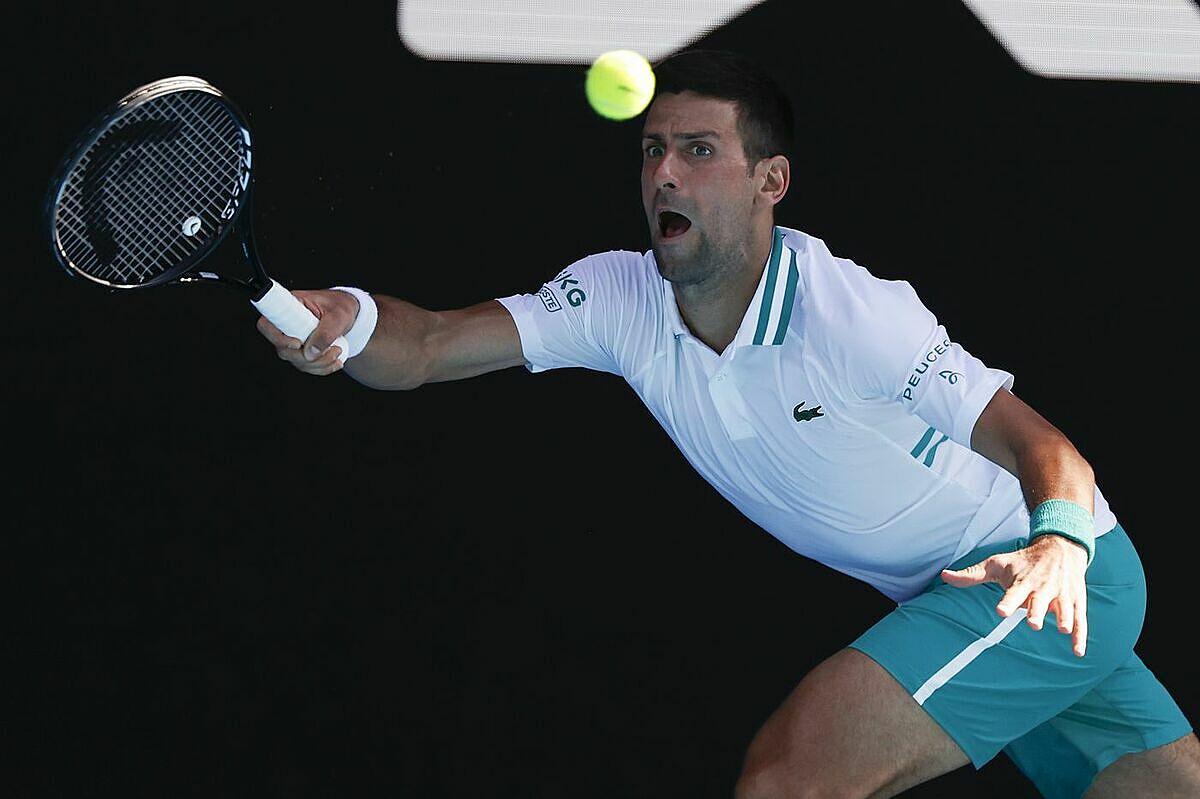 Djokovic tận dụng thành công năm trong 14 break-point. Ảnh: AP.