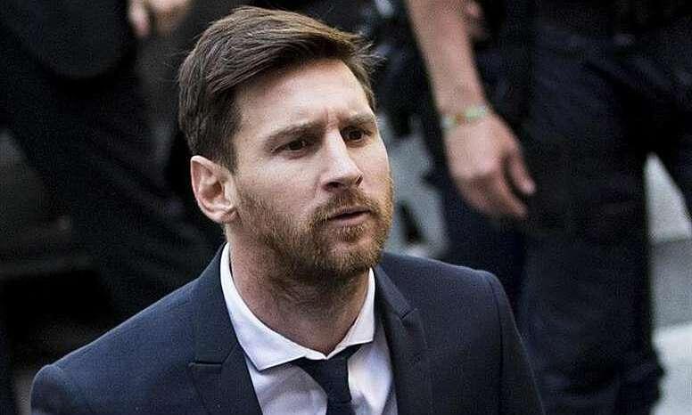 Messi từng hầu tòa vì không nộp thuế ở Tây Ban Nha. Ảnh: EFE