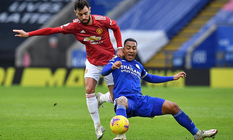 Man Utd và Leicester chia điểm ở giai đoạn một Ngoại hạng Anh mùa này. Ảnh: Reuters.