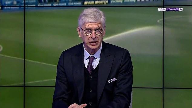 Wenger diwawancarai di beIN Sports pada 13 Februari.