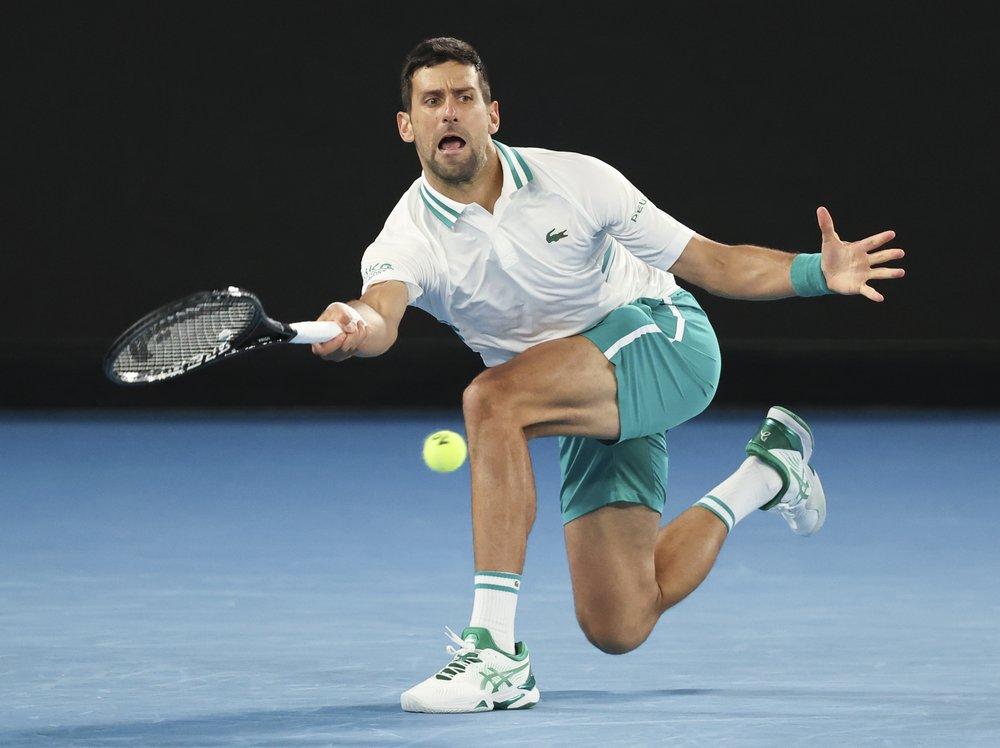 Djokovic ghi 41 điểm winner và mắc 25 lỗi tự đánh hỏng.