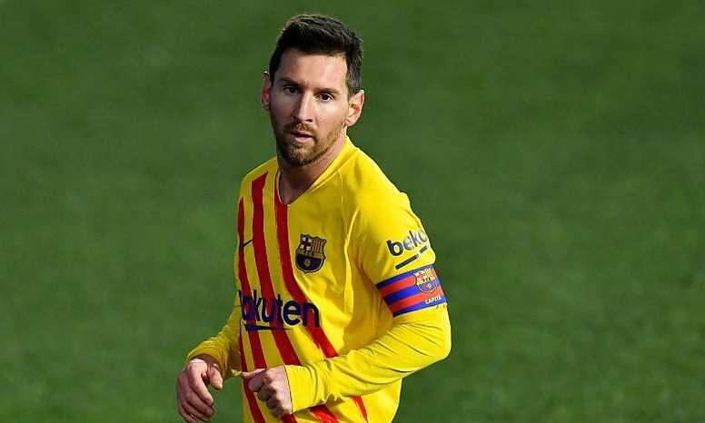 Messi đã ghi hai hat-trick ở vòng knock-out Champions League, bằng một nửa thành tích của Cristiano Ronaldo ở giai đoạn này. Ảnh: EFE