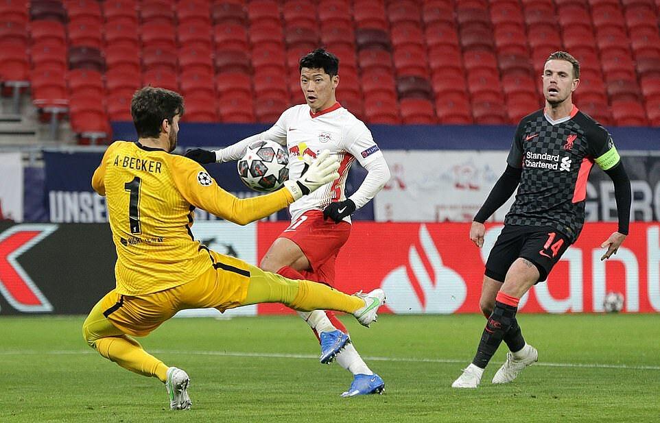 Hwang Hee-chan melewatkan kesempatan untuk menghadapi akhir pertandingan.  Foto: Corbis.