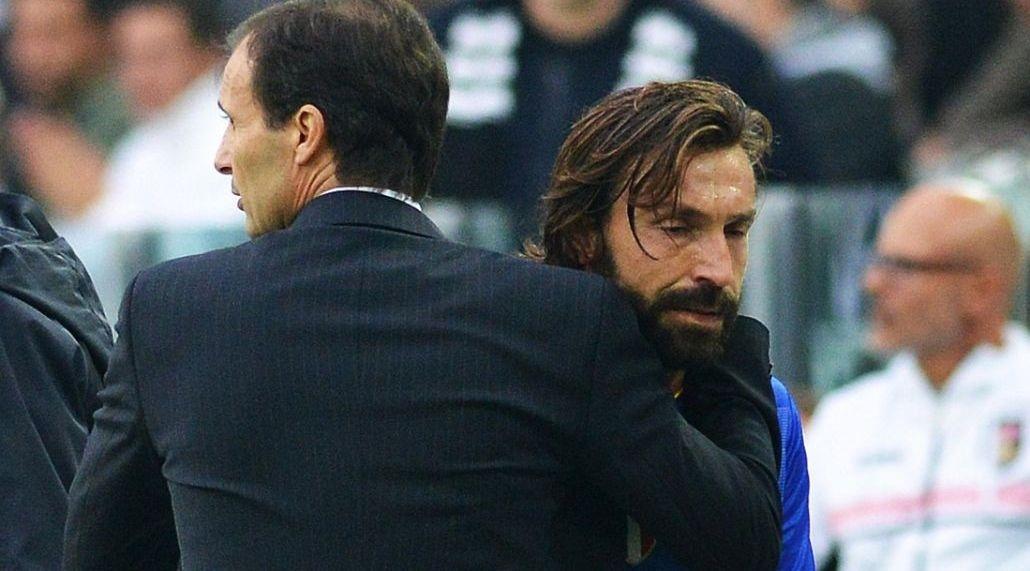 Pirlo tampaknya sangat dipengaruhi gaya pragmatis Allegri, bahkan bekerja dengan pelatih senior selama satu musim di Juventus dan satu musim di Milan.