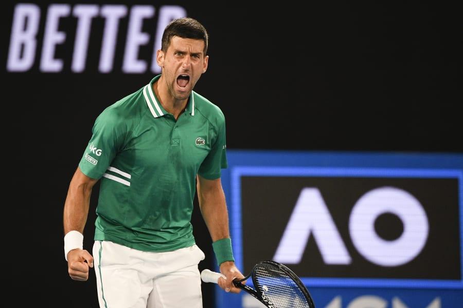Djokovic untuk kesembilan kalinya masuk semifinal Australia Terbuka.  Foto: BR.