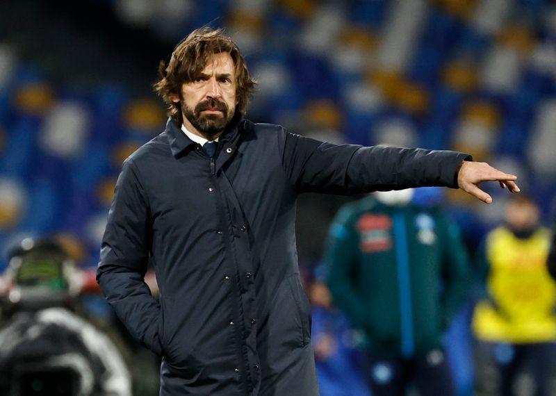 Pirlo mengatakan Juventus kurang beruntung saat kebobolan lebih awal.  Foto: Reuters.