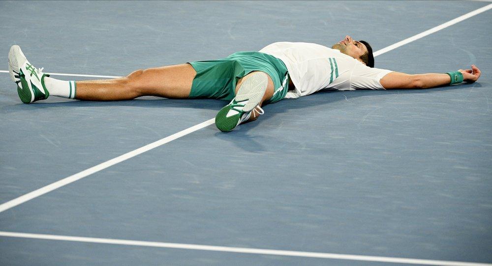 Djokovic telah memenangkan sembilan final Australia Terbuka.  Foto: AP.