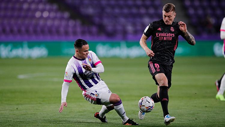 Kross mendapatkan skor tertinggi pada pertandingan antara tuan rumah Valladolid dan Real.  Foto: Real FC.
