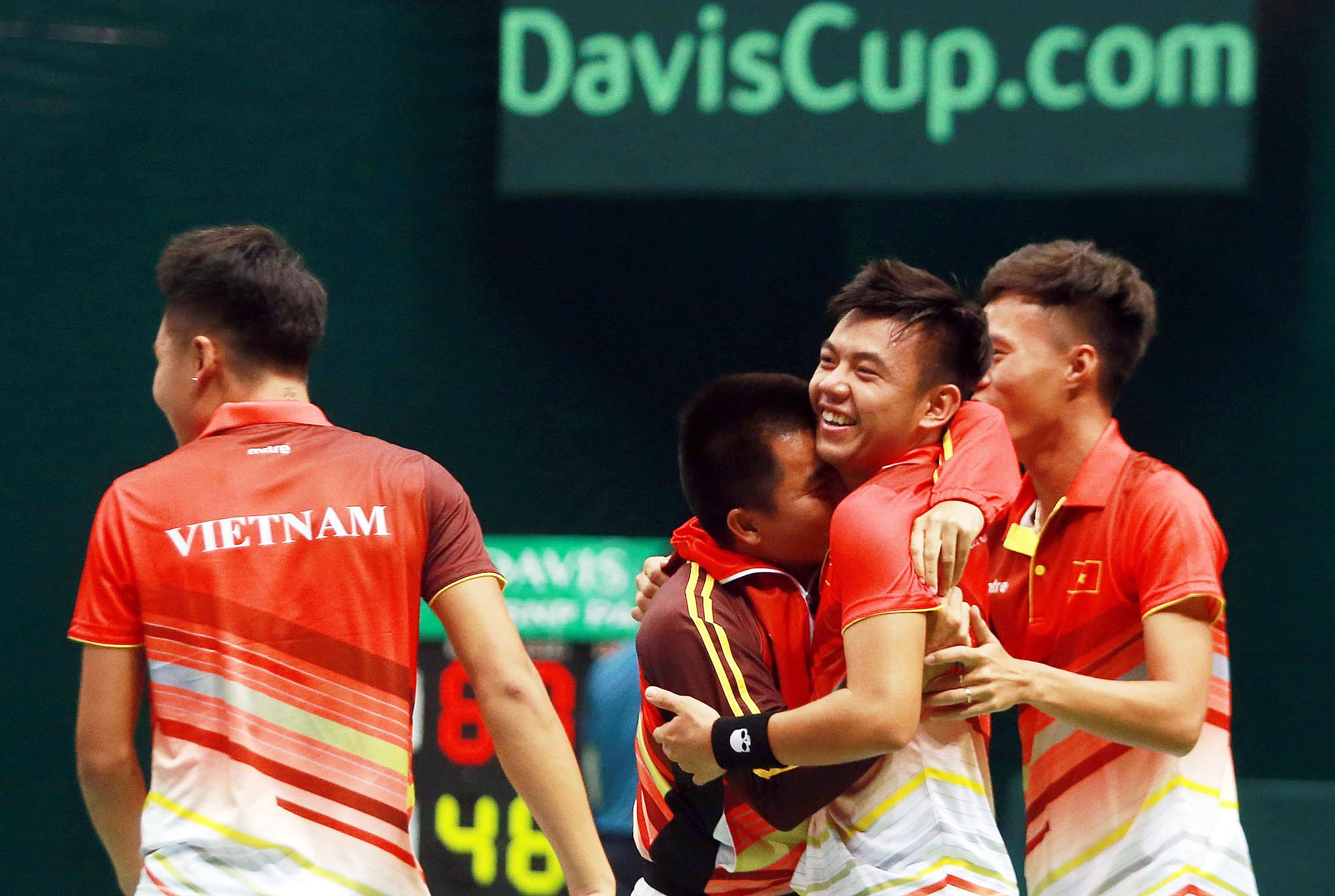 Có lợi thế sân nhà, Việt Nam đặt mục tiêu thăng hạng lên nhóm II. Ảnh: Thanh Thuý.