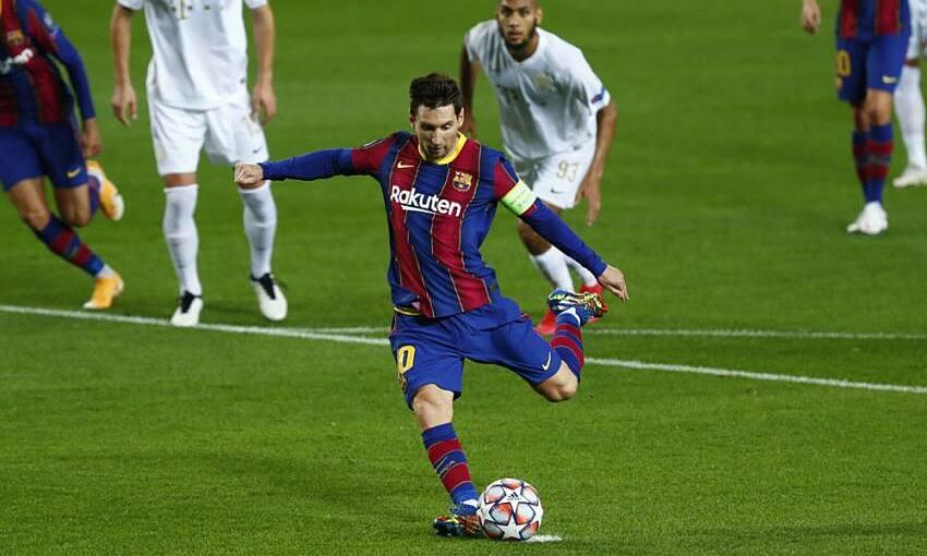 Messi baru saja melewatkan tiga penalti sejak Juni 2018.  Foto: AP