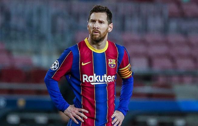 Messi masih memimpin daftar pencetak gol terbanyak La Liga, meski tim sedang dalam krisis.  Foto: AP.