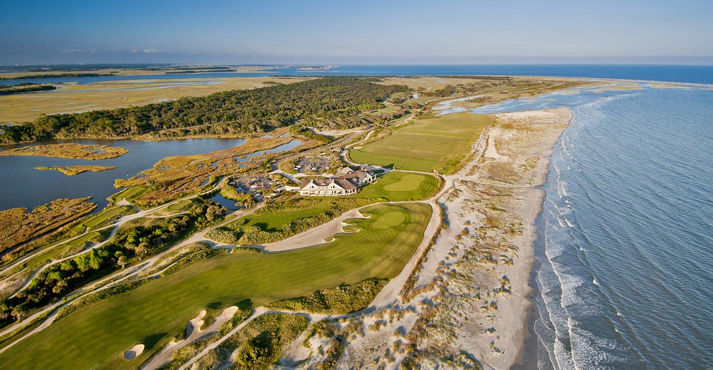 The Ocean Stadium will welcome 10,000 fieldgoers every day when the PGA Championship kicks off on May 17.  Photo: Kiawah Island