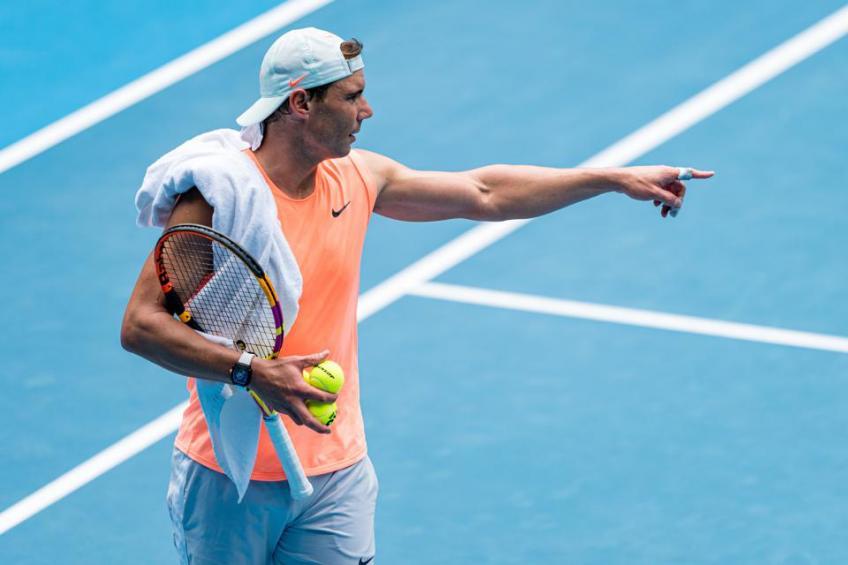 Nadal melewatkan janji dengan turnamen ATP Rotterdam karena cedera.  Foto: AP.