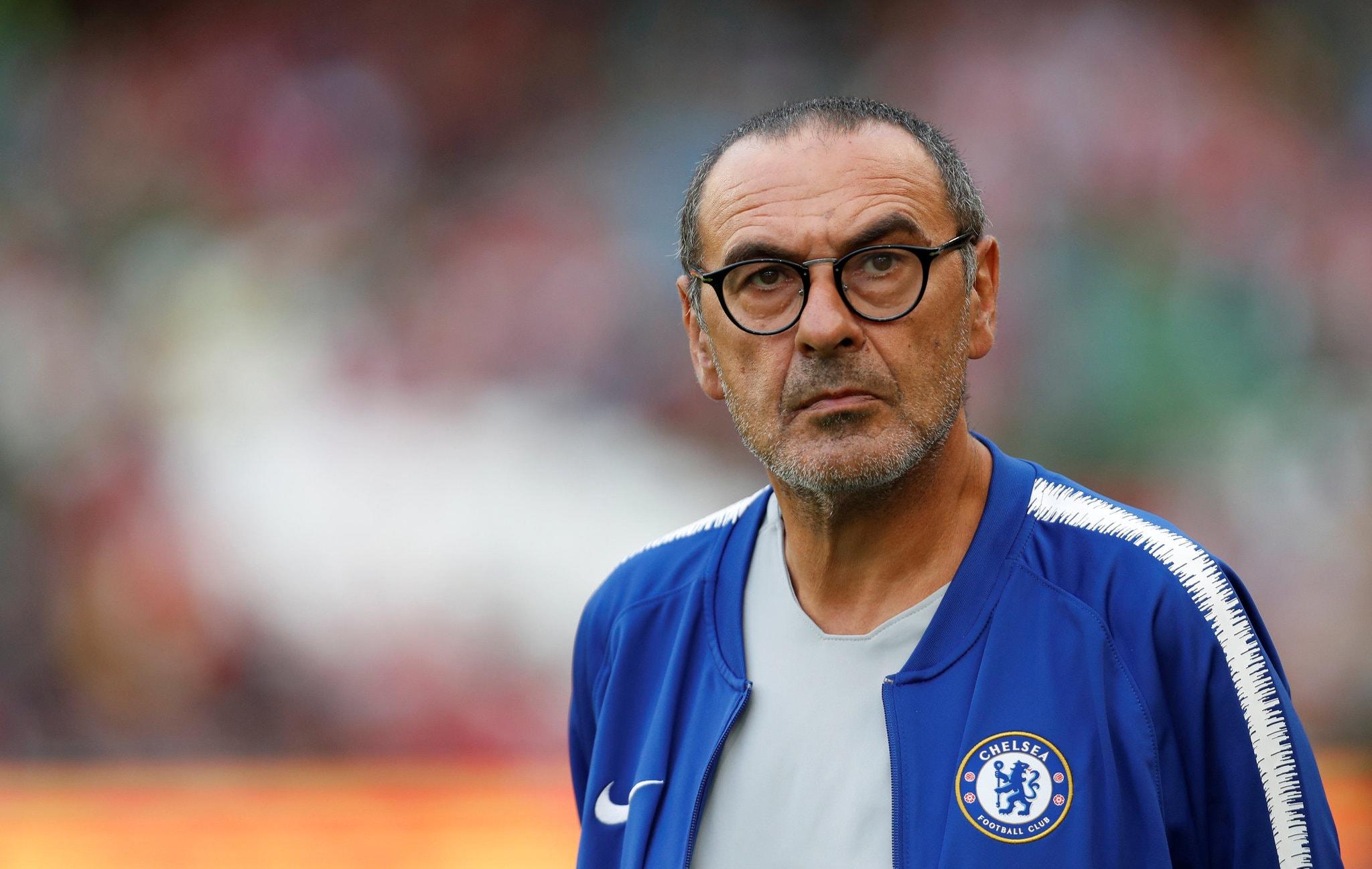 Sarri memiliki peluang bagus untuk kembali ke Chelsea, sebelum ambruk karena intervensi Abramovich.  Selama memimpin Chelsea pada musim 2018-2019, ia dan timnya menang 39 kali, imbang 13 kali, dan kalah 11 kali dalam 63 pertandingan.  Foto: Reuters
