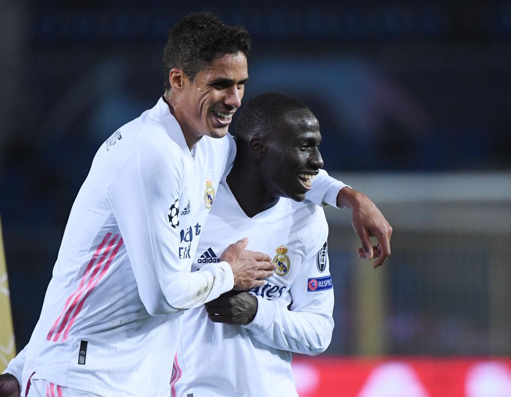 Real memegang keunggulan dengan menang 1-0 di Atalanta pada pertandingan pertama babak delapan belas.  Foto: Reuters.