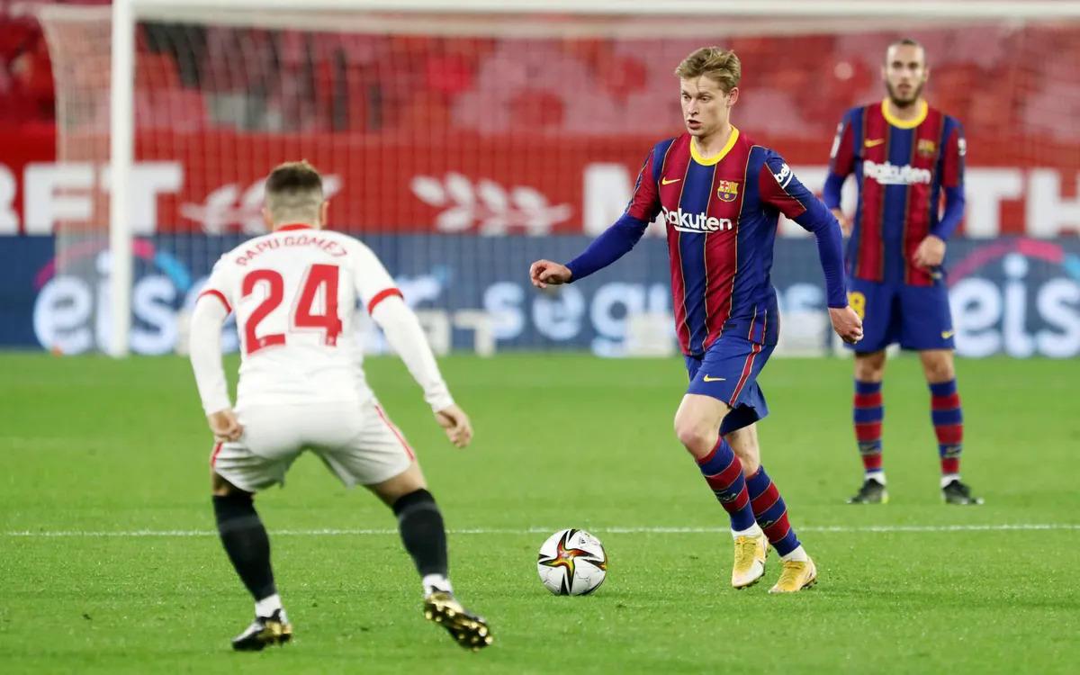 เมื่อบาร์ซ่าก้าวล้ำเซบีย่ารู้สึกลำบากใจที่จะตอบรับในเลกแรกของรอบรองชนะเลิศคิงส์คัพในวันที่ 10 กุมภาพันธ์  ภาพ: FC Barcelona