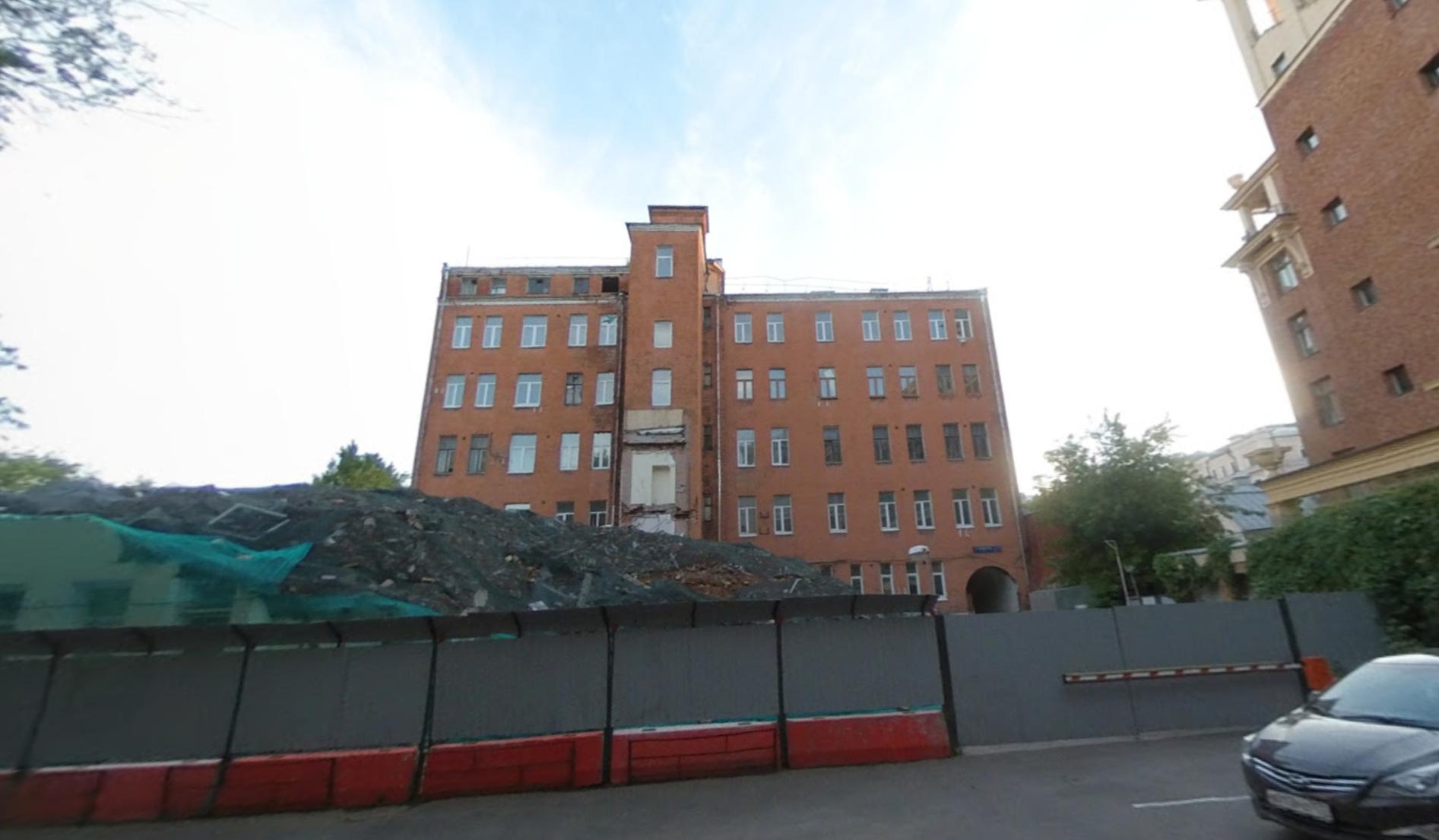 Địa chỉ nơi Lysenko đăng ký là bệnh viện trên thực tế là toà nhà đã bị phá bỏ ở Moscow. Ảnh: Google Map