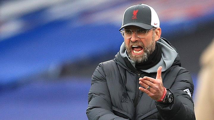 Klopp liên tục để thua Brighton, Man City, Leicester và Everton trong bốn trận Ngoại hạng Anh gần nhất. Ảnh: Reuters.