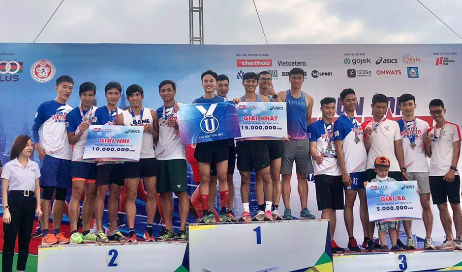 Ultrain group ranked 1st in the Team relay race in HCMC